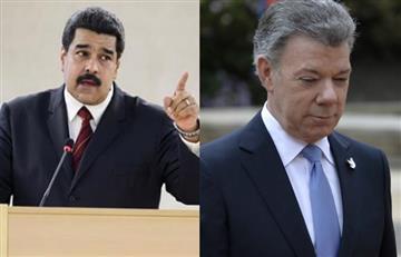 Nicolás Maduro volvió a los insultos y así trató a Santos