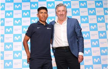 """Nairo Quintana: """"Tenemos muchas ganas de mostrarle al mundo cómo es Colombia"""""""