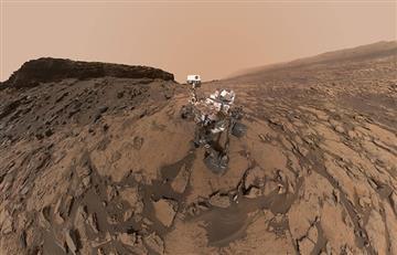NASA: Sorprendente video panorámico del paisaje marciano