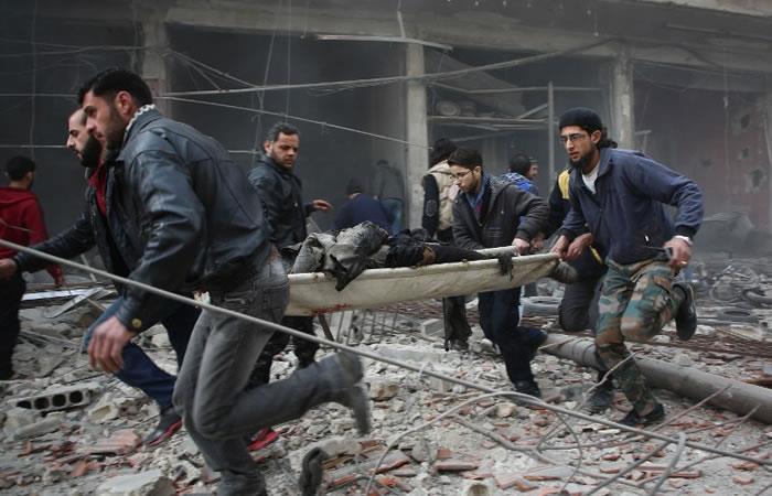 Ataques contra Guta Oriental dejan más de 40 muertos, entre ellos niños