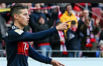 James Rodríguez: En Alemania lo homenajean recordando sus goles y asistencias