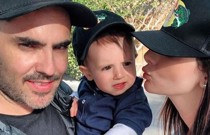 Lincoln Palomeque no ocultó su felicidad tras primera palabra de su hijo