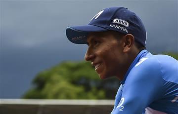 Nairo Quintana da un parte de tranquilidad a Colombia tras dura caída