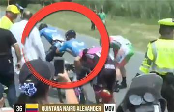 Nairo Quintana y el humilde gesto de su hermano Dayer que aplaude toda Colombia