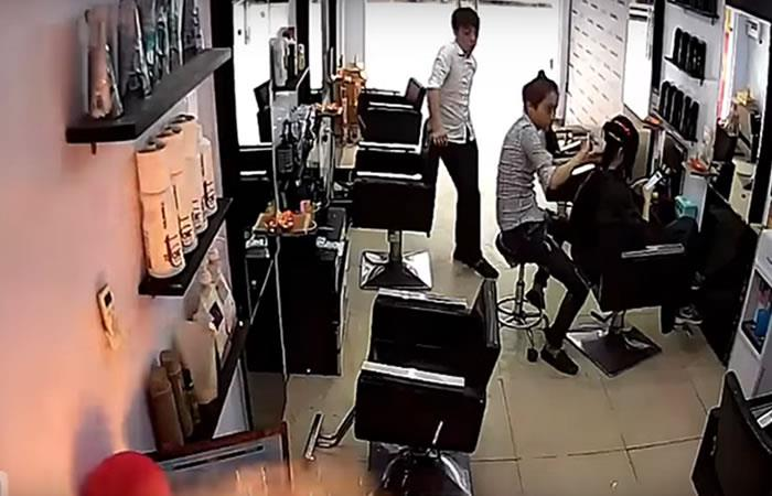 Video: Un iPhone 6 plus explota en un salón de belleza