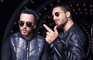 Yandel y Maluma revelan adelanto de su nuevo video 'Solo mía'