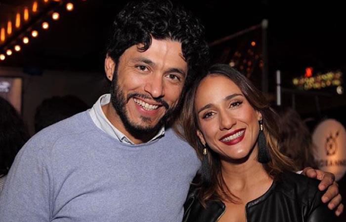 Así reaccionó Santiago Alarcón al ver escena íntima de Cecilia Navia