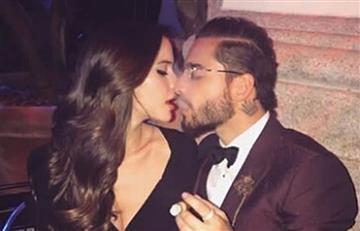 Con tatuaje Maluma y Natalia Barulich sellaron su romántico amor