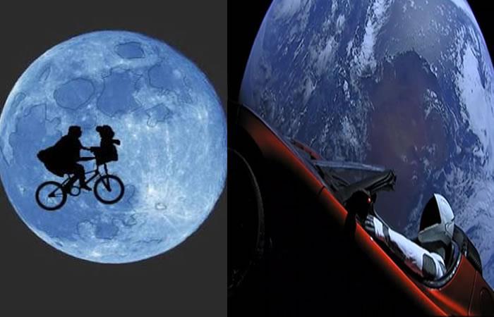 Divertidos memes del cohete Falcon Heavy con el Tesla en el espacio
