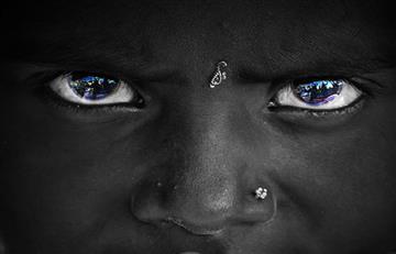 El primer británico era negro y de ojos azules