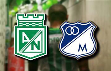 Nacional vs. Millonarios: Transmisión EN VIVO por TV por la Superliga