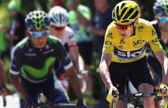 Chris Froome podría competir la carrera Colombia Oro y Paz