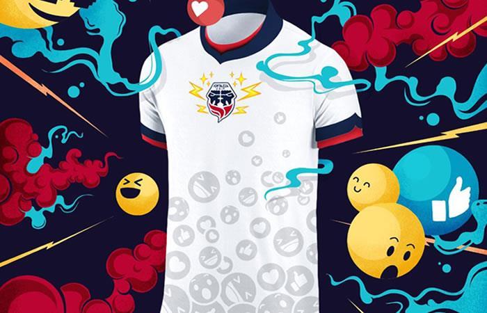 Fortaleza presenta su nueva camiseta de emojis