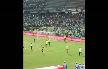 Hinchas de Atlético Nacional amenazaron e impidieron que Millonarios festejara