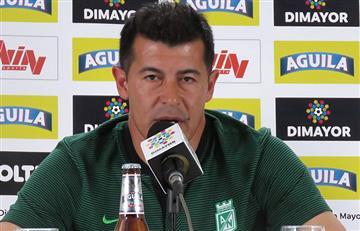 ¿Jorge Almirón le echa la culpa al árbitro de la derrota de Nacional ante Millonarios?