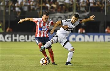 Junior espera remontarle a Olimpia en la Copa Libertadores