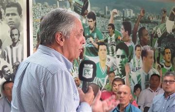 La derrota de Nacional ante Millonarios le costaría el puesto al presidente 'verdolaga'