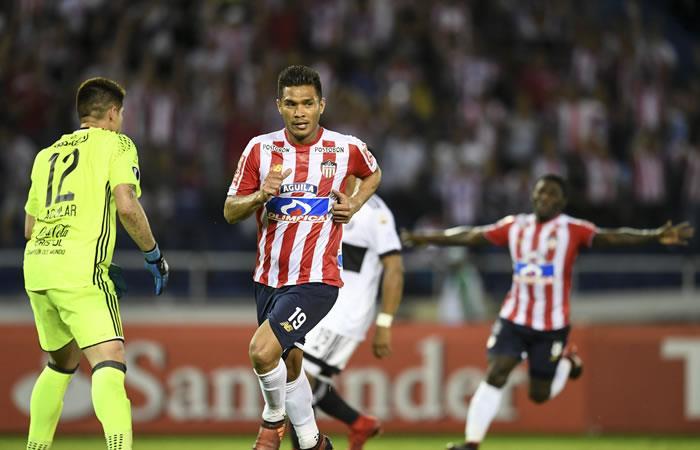 Libertadores: Junior clasifica a tercera fase tras remontar ante Olimpia