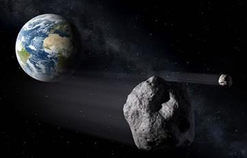 NASA: Se aproxima a la Tierra un gran asteroide descubierto el pasado domingo
