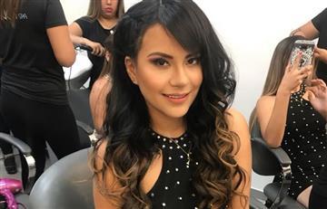 Thamara Gómez sufre accidente en vivo con un hacha