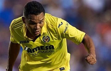 Carlos Bacca se reportó con gol en la derrota del Villarreal
