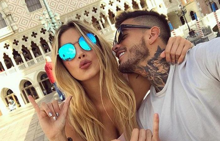 Melina Ramírez y Mateo Carvajal protagonizan picante fotografía