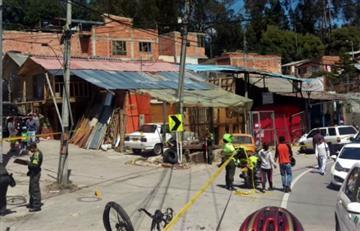 Un ciclista muerto y otros tres heridos tras accidente con una camioneta en La Calera