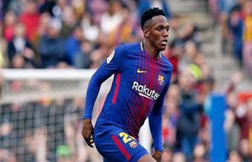 Yerry Mina y sus grandes palabras tras su debut en el Barcelona