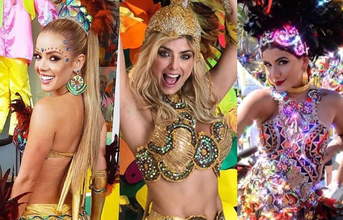 Así disfrutaron los famosos el Carnaval de Barranquilla
