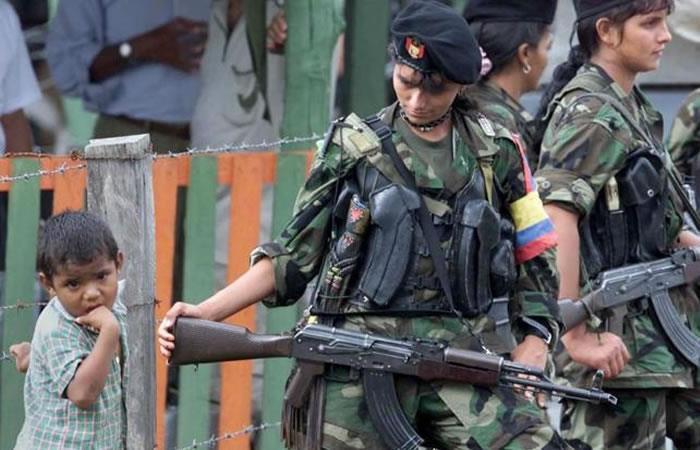 Colombia: Las guerrillas han sido los mayores reclutadores de niños