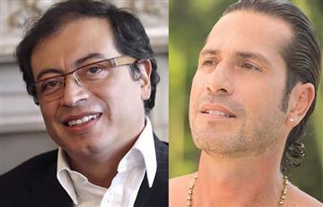 Gregorio Pernía muestra todo su apoyo a Gustavo Petro