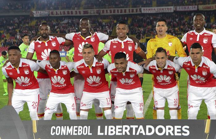 Libertadores: Santa Fe visita a Santiago Wanderers por un cupo al grupo 2