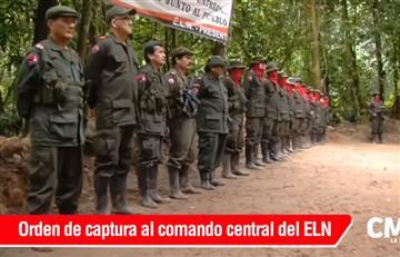 Orden de captura contra comando central del ELN