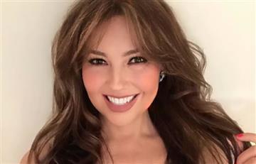 Thalía respondió a críticas con fotografía al natural