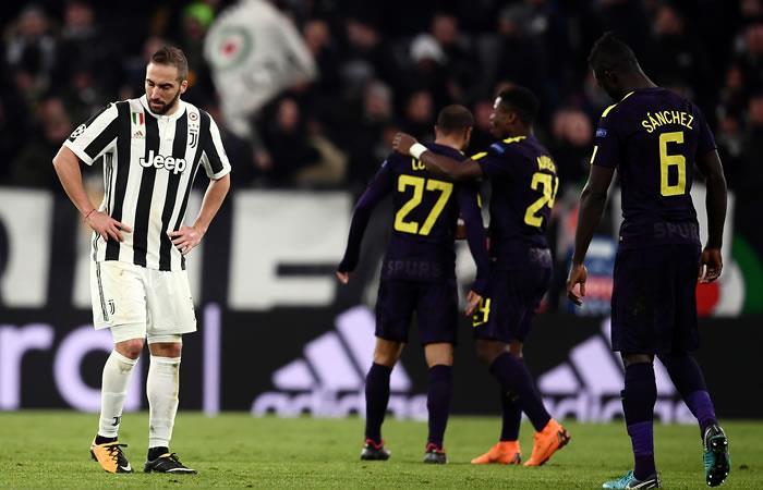 Tottenham consiguió el empate ante la Juventus