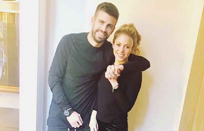 Así recibe Shakira a Piqué cuando llega a casa