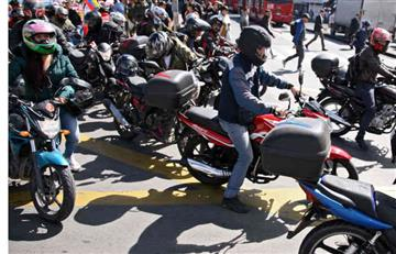Ministerio de Transporte prohibirá la moto como uso de transporte masivo de alimentos