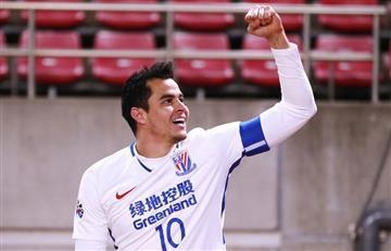 (Vídeo) Gio Moreno marca gol con el Shanghái
