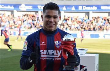 ¿'Cucho' Hernández acompañaría aYerry Mina en Barcelona?