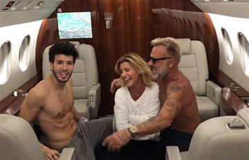 Gianluca Vacci y el striptease junto a Sebastián Yatra en avión privado