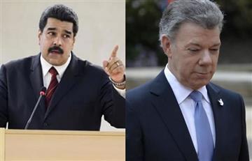 Maduro y Santos, ¿reunidos para hablar de la frontera?