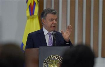 Presidente Santos sugiere a su sucesor acabar con la polarización