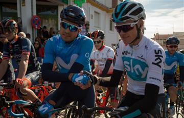 Chris Froome será el lider de Sky en Tirreno-Adriático