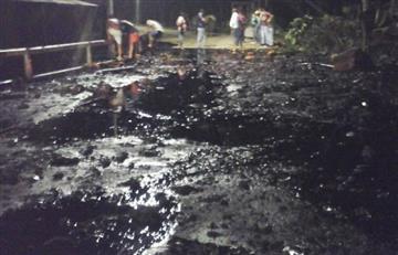 Norte de Santander: Nuevo atentado al Oleoducto Caño Limón Coveñas