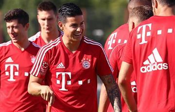 Bayern sin James en cancha remonta y rescata 3 puntos