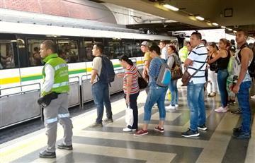 El Metro de Medellín vuelve a reportar fallas