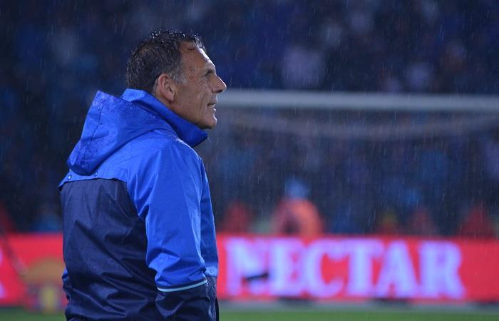 Miguel Ángel Russo regresó a los entrenamientos con Millonarios