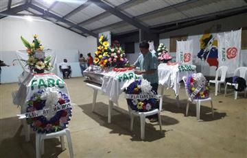Restos de tres desmovilizados de las Farc fueron entregados a sus familiares