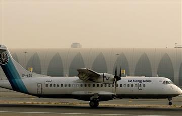 Avión se estrella en Irán con 66 ocupantes que se teme hayan muerto