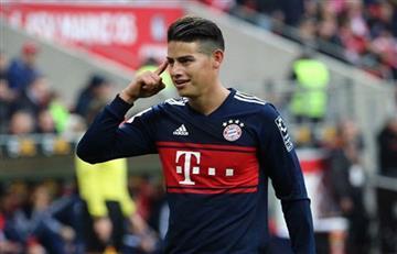 James Rodríguez recupera la sonrisa y su nivel de juego enamora a Alemania